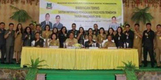 Walikota Tomohon Hadiri Bimtek SIM Gaji PNS