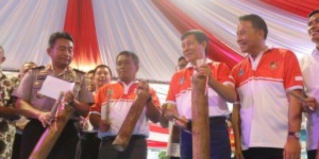 Tinju Kapolri Cup, Walikota Tomohon Sosialisasi TIFF 2018