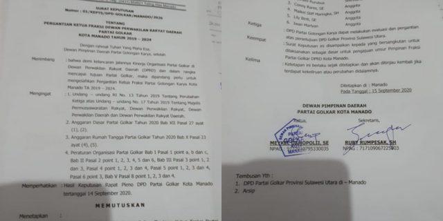 Diduga Efek Musda, Lily Binti Dicopot dari Jabatan Ketua Fraksi Golkar