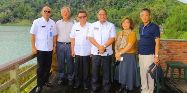 Sekkot Lolowang Dampingi Walikota Minamiboso Jepang Kunjungi Obyek Wisata Tomohon