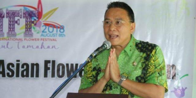 Walikota Tomohon Buka The 3rd General Meeting of CAFE