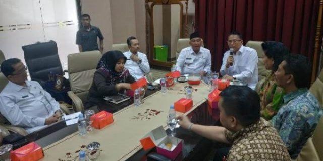 Walikota Eman Pimpin Kunker di Kota Tangsel dan Depok