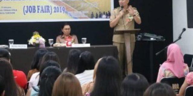 Walikota Eman Buka Job Fair 2019