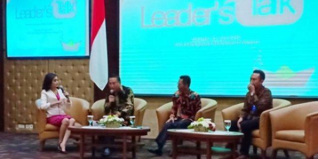 Walikota Eman Pukau Seluruh Peserta Leader's Talk