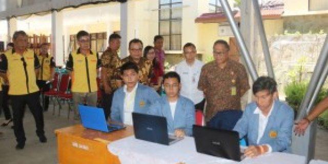 Sekkot Lolowang Lepas KKT 437 Mahasiswa Unsrat di Tomohon