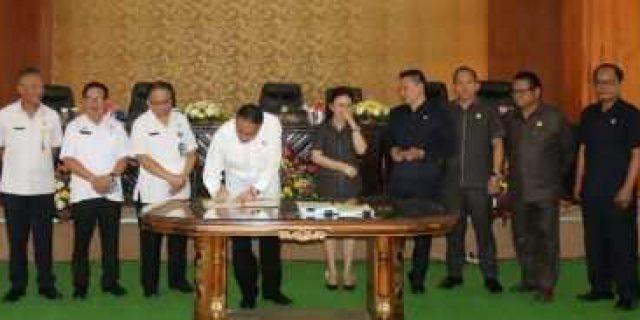 Walikota Eman Jelaskan RKU dan PPAS Perubahan APBD 2019 ke DPRD
