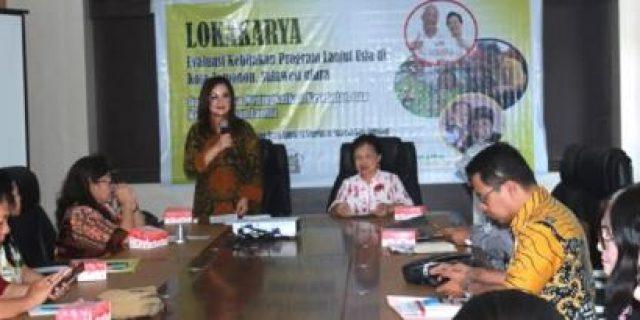 Wawali SAS Hadiri Lokakarya Evaluasi Lansia