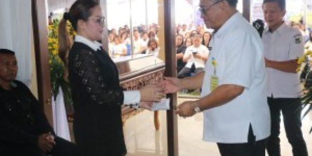 Pemkot Tomohon Gelar Ibadah Penghiburan Meninggalnya Ibunda Wawali SAS