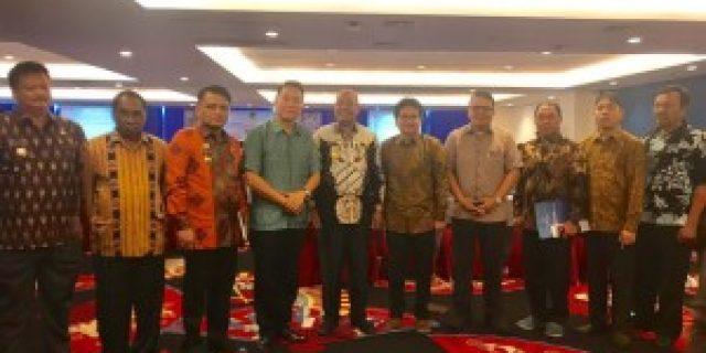 Walikota Tomohon Hadiri Sosialisasi Layanan Darurat 112 di Makassar