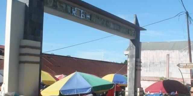PD Pasar Kota Tomohon Ingatkan Area Dilarang Berjualan