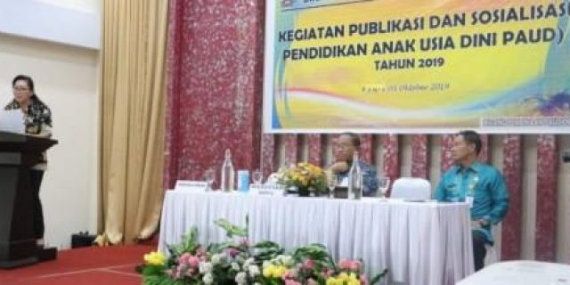 Dikbud Tomohon Gelar Publikasi dan Sosialisasi PAUD