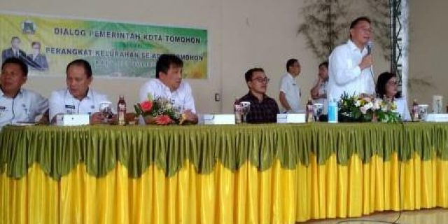 Walikota Eman Tatat Muka Dengan Perangkat Kelurahan