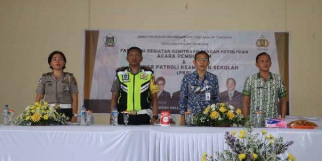 Dikbud Kota Tomohon dan Kepolisian Gelar FKK