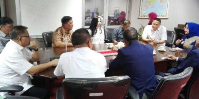 Walikota Eman Presentasikan TIFF 2018 Dihadapan Ketua DPP LPM RI
