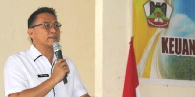 Walikota Eman Buka Rakorev Keuangan Daerah