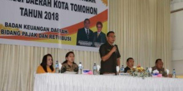 Tomohon Sosialisasikan Penerapan Perundang-Undangan Bidang Pajak dan Retribusi Daerah
