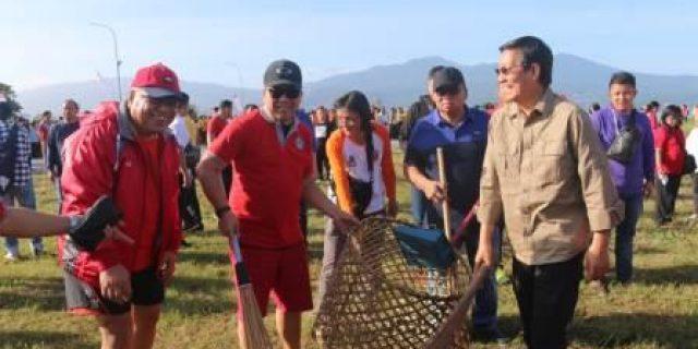 Pemkot Manado-Pemprov Gelar Aksi Bersih Sampah