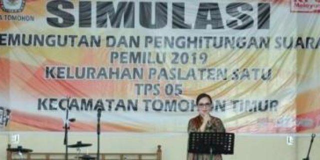 Simulai PPS Pemilu 2019, Wawali SAS Ajak Jangan Golput