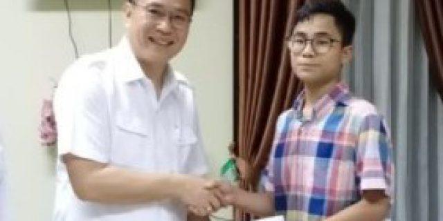 Walikota Eman Suport Siswa Tomohon Wakili Indonesia di Olimpiade Matematika