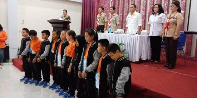 Walikota Eman Apresiasi 10 Siswa Berprestasi Tomohon di 02SN